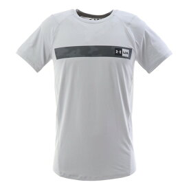 アンダーアーマー(UNDER ARMOUR) 【ポイント15倍】【多少の傷汚れありの為大奉仕】Tシャツ MK1バーロゴ 半袖Tシャツ 1348563 MGA/PCG AT (メンズ)