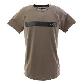 アンダーアーマー(UNDER ARMOUR) メンズ MK1バーロゴ 半袖Tシャツ 1348563 SLB/JGY AT オンライン価格 (メンズ)
