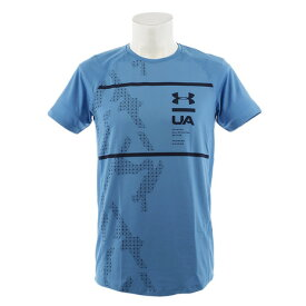 アンダーアーマー(UNDER ARMOUR) Tシャツ メンズ MK-1ショートスリーブプリント 半袖Tシャツ 1327251 ETB/ADY AT オンライン価格 (Men's)