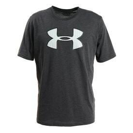 アンダーアーマー(UNDER ARMOUR) メンズ ビッグロゴ Tシャツ 1358571 CHM/WHT AT 半袖 オンライン価格 (メンズ)