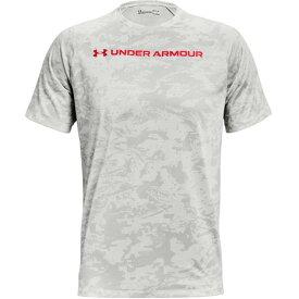 アンダーアーマー(UNDER ARMOUR) Tシャツ 半袖 テック カモ 1361698 100 (メンズ)
