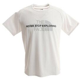 【8月15日24h限定エントリーでP10倍〜】ノースフェイス(THE NORTH FACE) Tシャツ メンズ アンペアクルー半袖Tシャツ NT12083 W オンライン価格 (Men's)