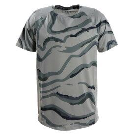 アンダーアーマー(UNDER ARMOUR) Tシャツ 半袖 メンズ MK-1 プリント 1353134 GVN/BLK AT オンライン価格 (メンズ)