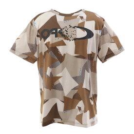 オークリー(OAKLEY) Enhance クイックドライ ショートスリーブ Tシャツ Graphic 10.7 FOA401589-86E (メンズ)