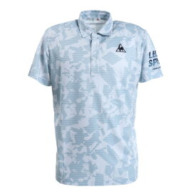 ルコック スポルティフ(Lecoq Sportif) 半袖ポロシャツ QMMPJA43 WHT オンライン価格 (Men's)