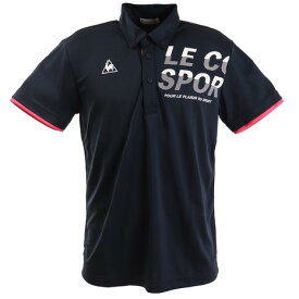 ルコック スポルティフ(Lecoq Sportif) 半袖ポロシャツ QMMPJA42 NVY オンライン価格 (Men's)