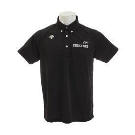 デサント(DESCENTE) 【ゼビオグループ限定】 ドライプラス ポロシャツ DORC9414XB BK (Men's)