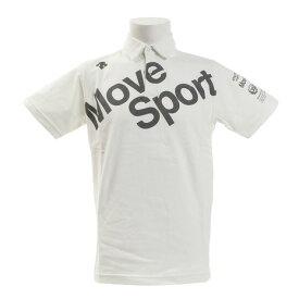 デサント(DESCENTE) デオダッシュコットン ポロシャツ DMMNJA70 WH (Men's)