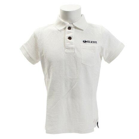 エルケクス(ELKEX) INDG SLUB PIQUE ポロシャツ 863EK8FQ5809WHT (Men's)