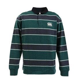 カンタベリー(canterbury) ロングスリーブ ラガーシャツ RA49607 49 (Men's)