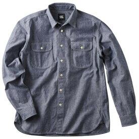 カンタベリー(canterbury) ダンガリー 長袖ワークシャツ RA40581 29 (メンズ)