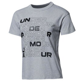 【6/25 24h限定 エントリーで会員ランク別ポイント最大10倍】アンダーアーマー(UNDER ARMOUR) コットン ボックス グラフィック 半袖 Tシャツ 1364218 035 (レディース)