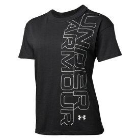 アンダーアーマー(UNDER ARMOUR) ガールフレンド グラフィック 半袖Tシャツ 1360114 BLK AT オンライン価格 (レディース)