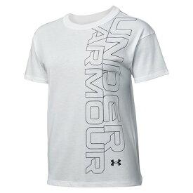 アンダーアーマー(UNDER ARMOUR) ガールフレンド グラフィック 半袖Tシャツ 1360114 WHT AT (レディース)
