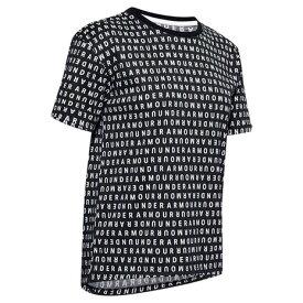アンダーアーマー(UNDER ARMOUR) Tシャツ レディース 半袖 ロゴ プリント ライブ 1355708 BLK/WHT AT オンライン価格 (レディース)