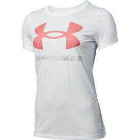 アンダーアーマー(UNDER ARMOUR) テック ビッグロゴ グラフィック 半袖Tシャツ 1360113 WHT AT (レディース)