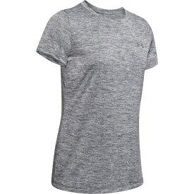 アンダーアーマー(UNDER ARMOUR) トレーニング半袖Tシャツ テック ツイスト 1277206 PCG/MSV AT オンライン価格 (Lady's)