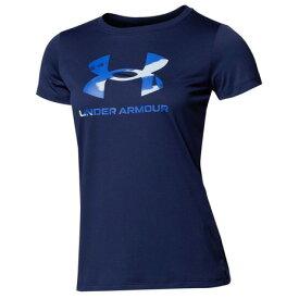 アンダーアーマー(UNDER ARMOUR) テック ビックロゴ 半袖 Tシャツ 1364211 410 (レディース)
