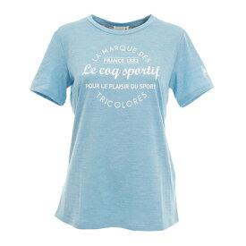 ルコック スポルティフ(Lecoq Sportif) 半袖 Tシャツ QMWNJA13 PLC オンライン価格 (レディース)