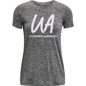 アンダーアーマー(UNDER ARMOUR) テック ツイスト スクリプト 半袖Tシャツ 1365145 019 (レディース)