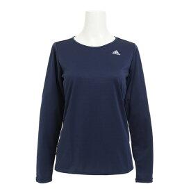 アディダス(adidas) 【多少の汚れ等訳あり大奉仕】D2M トレーニング 定番 ロゴワンポイント長袖Tシャツ DML59-BS0500 (Lady's)