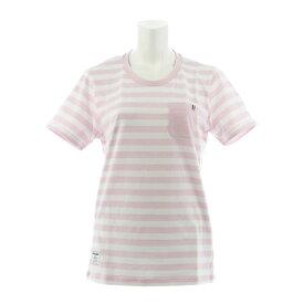 ルコック スポルティフ(Lecoq Sportif) ボーダーTシャツ QMWNJA11XB MCP (Lady's)