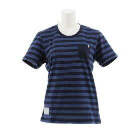 ルコック スポルティフ(Lecoq Sportif) ボーダーTシャツ QMWNJA11XB NVY (Lady's)