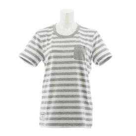 ルコック スポルティフ(Lecoq Sportif) ボーダーTシャツ QMWNJA11XB WHT (Lady's)