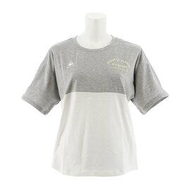 ルコック スポルティフ(Lecoq Sportif) ユルTシャツ QMWNJA12XB MGR (Lady's)