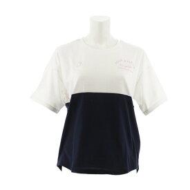ルコック スポルティフ(Lecoq Sportif) ユルTシャツ QMWNJA12XB WHT (Lady's)