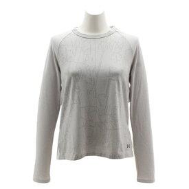 アンダーアーマー(UNDER ARMOUR) Tシャツ レディース 長袖 アンストッパブル バーンアウト 1317875 AMM/AMM/TNL AT オンライン価格 (Lady's)