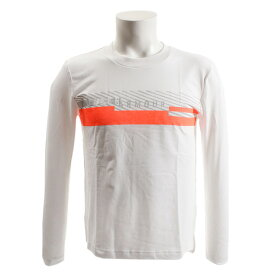 アンダーアーマー(UNDER ARMOUR) Tシャツ レディース 長袖 グッドストライプ ワードマークグラフィック 1321140 WHT/ATB/MSV AT オンライン価格 (Lady's)