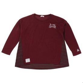 ルコック スポルティフ(Lecoq Sportif) 【ゼビオグループ限定】 Aライントップス レディース 長袖Tシャツ QMWMJB11XB BGD (Lady's)