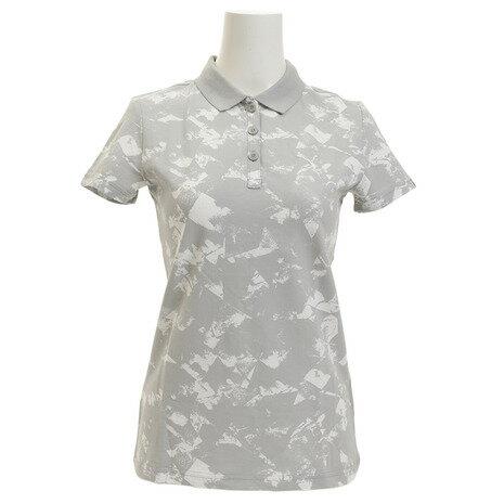 プーマ(PUMA) ENERGIZED AOP ポロシャツ 852155 04 GRY (Lady's)