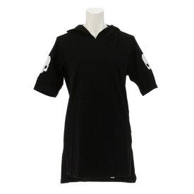ハイドロゲン(HYDROGEN) 【オンライン特価】リカバリー フーディー Tシャツ RG1005 BLACK (Lady's)