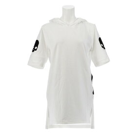 ハイドロゲン(HYDROGEN) 【オンライン特価】リカバリー フーディー Tシャツ RG1005 WHITE (Lady's)