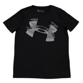 アンダーアーマー(UNDER ARMOUR) 半袖プリントTシャツ 1348418 BLK AT オンライン価格 (キッズ)