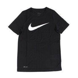 ナイキ(NIKE) 半袖tシャツ ジュニア Tシャツ ジュニア ジュニア ドライフィット レッグ スウッシュTシャツ AR5307-011SU19 オンライン価格 (Jr)