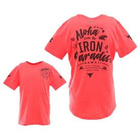 アンダーアーマー(UNDER ARMOUR) ボーイズ プロジェクトロック IRON PRDS 半袖Tシャツ 1351842 VER/BLK AT オンライン価格 (キッズ)
