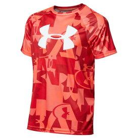 アンダーアーマー(UNDER ARMOUR) Tシャツ 半袖 ボーイズ テック ビッグロゴ プリント 1363278 600 (キッズ)