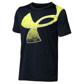 アンダーアーマー(UNDER ARMOUR) ボーイズ テック スプラッター シンボル 半袖 Tシャツ 1364226 001 (キッズ)