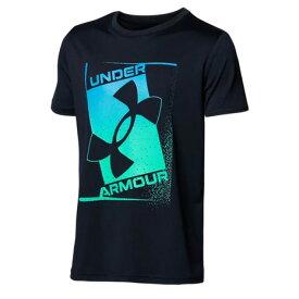 アンダーアーマー(UNDER ARMOUR) ボーイズ テック プリント ロゴ Tシャツ 1364227 001 半袖 (キッズ)