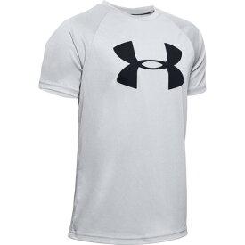 アンダーアーマー(UNDER ARMOUR) ボーイズ テック ビッグロゴ 半袖Tシャツ 1351850 MRH/BLK AT オンライン価格 (Jr)