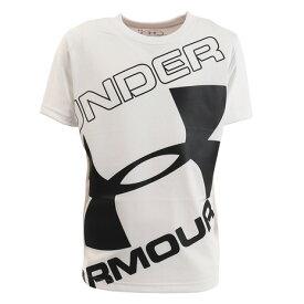 アンダーアーマー(UNDER ARMOUR) ジュニア テック ブランド ロゴ ショートスリーブ 1353546 WHT AT オンライン価格 (Jr)