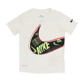 ナイキ(NIKE) 【オンライン特価】 ジュニア MUDDY SWOOSH DRIS 半袖Tシャツ 86E782-001 (Jr)