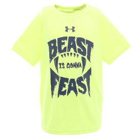アンダーアーマー(UNDER ARMOUR) ボーイズ テック Beast Gonna Feast 半袖Tシャツ 1351859 XRY/BIK AT オンライン価格 (キッズ)
