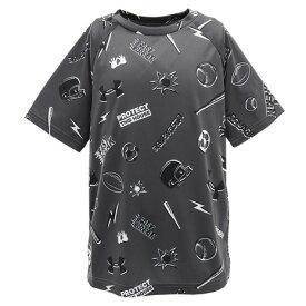 【5/15 24h限定 エントリーで会員ランク別ポイント最大10倍!】アンダーアーマー(UNDER ARMOUR) Tシャツ 半袖 ボーイズ テック スポーティ オールオーバー Tシャツ 1351890 PCG/WHT AT 半袖 オンライン価格 (キッズ)