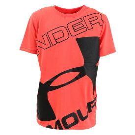 アンダーアーマー(UNDER ARMOUR) Tシャツ 半袖 ジュニア テック ブランド ロゴ ショートスリーブ 1353546 BEA/BLK AT オンライン価格 (キッズ)