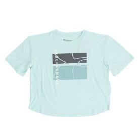 【6/5 24h限定 エントリーでP10倍〜】アンダーアーマー(UNDER ARMOUR) ジュニア BTH UPF50 Tシャツ 1330642 NTQ/WHT AT (Jr)