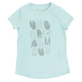 アンダーアーマー(UNDER ARMOUR) ジュニア ライナーワードマーク 半袖Tシャツ 1327895 NTQ/ATL AT (Jr)